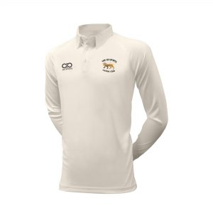Long Sleeve White Playing Shirt