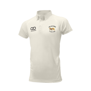 Short Sleeve White Playing Shirt